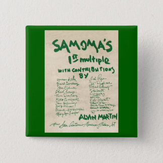 SAMOMA-många Standard Kanpp Fyrkantig 5.1 Cm