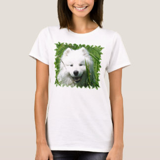 Samoyed i gräs t shirt