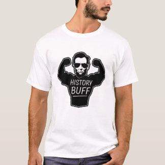 Sämskskinns- roliga manar för historia skjorta tshirts