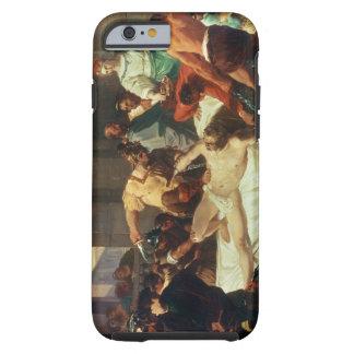 Samson förrådde vid Delilah (olja på kanfas) Tough iPhone 6 Case