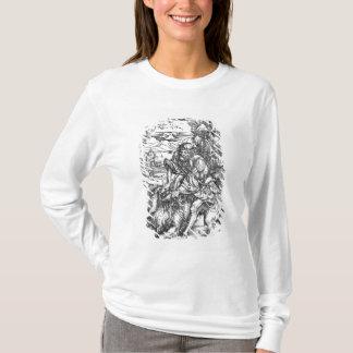Samson som dräpar det lejont, c.1496-98 t shirt