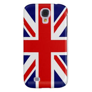 Samsung för flagga för UK för facklig jack brittis Galaxy S4 Fodral
