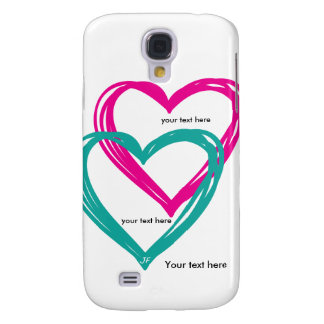 """""""Samsung för hjärta 2"""" galax S4, knappt där Galaxy S4 Fodral"""