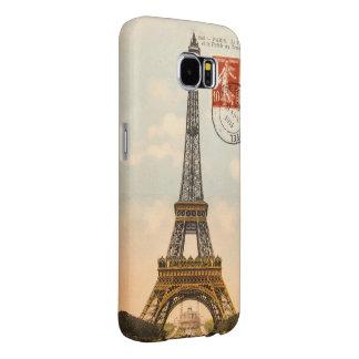 Samsung för vintageEiffel torn galax S6 Samsung Galaxy S6 Fodral