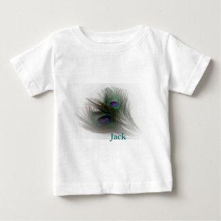 Samtidaa moderiktiga påfågelfjädrar för © P T Shirt