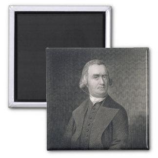 Samuel Adams som inristas av G.F. Storma (fl.c.183 Magnet