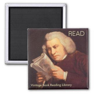Samuel Johnson - läsning Magnet