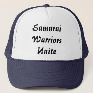 Samuraikrigare förenar truckerkeps
