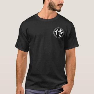 Samuraisvarten & vit förseglar skjortan t shirt