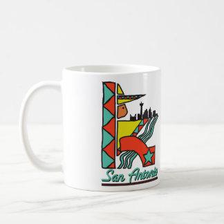 San Antonio grafisk kaffemugg