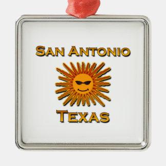 San Antonio solsymbol Julgransprydnad Metall