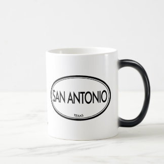 San Antonio Texas Magisk Mugg