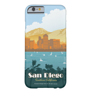 San Diego CA Barely There iPhone 6 Skal