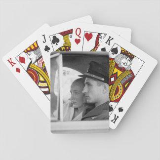 San Diego Calif.  Ett ungt officer_War avbildar Casinokort