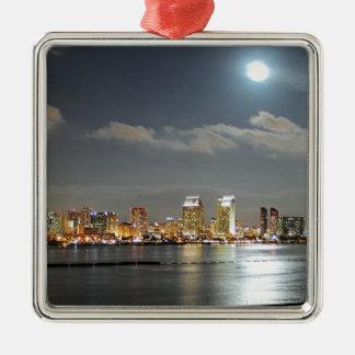 San Diego horisont Julgransprydnad Metall