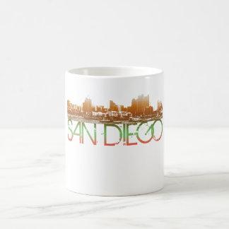 San Diego horisontdesign Kaffemugg