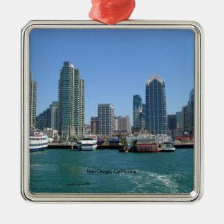 San Diego Kalifornien horisont Julgransprydnad Metall