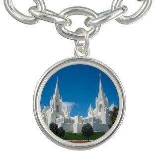 San Diego Kalifornien LDS tempelarmband Berlockarmband