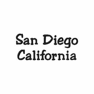 San Diego Kalifornien skjorta - anpassade!!! Polo Tröja
