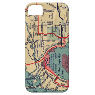 San Diego kartaiphone case iPhone 5 Case-Mate Skydd