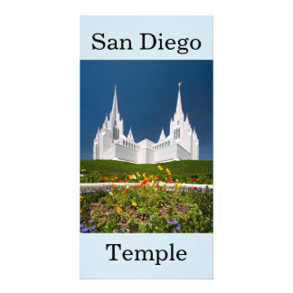 San Diego LDS tempel Fotokort