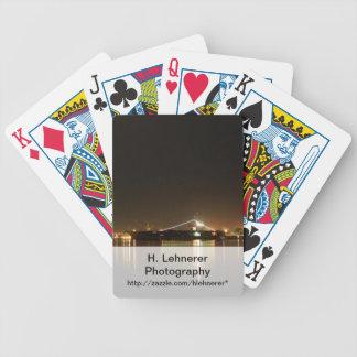 San Diego nattljus Spelkort