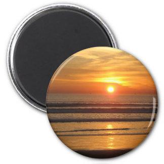 San Diego solnedgång 2 Magnet