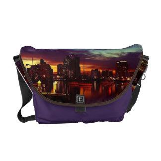 San Diego solnedgånghorisont Kurir Väskor