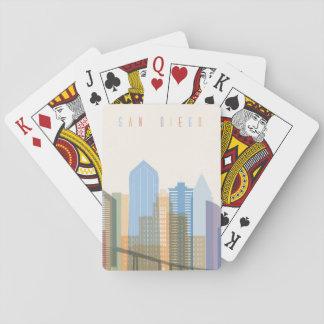 San Diego stadshorisont Casinokort