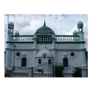 San Fernando Jama Masjid (moskén) Trinidad Vykort