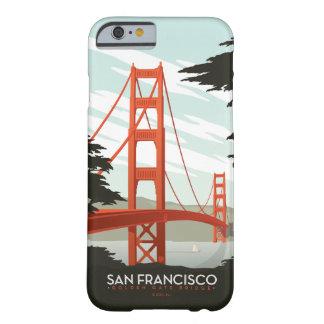 San Francisco CA - den guld- grinden överbryggar Barely There iPhone 6 Fodral