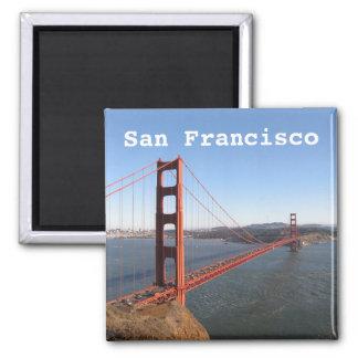 San Francisco CA, den guld- grinden överbryggar Magnet