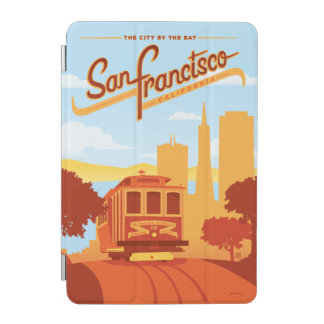 San Francisco CA - staden vid fjärden iPad Mini Skydd