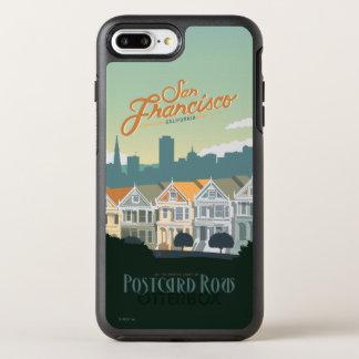San Francisco CA - vykortet ror OtterBox Symmetry iPhone 7 Plus Skal