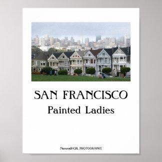 San Francisco coolaaffisch! Poster