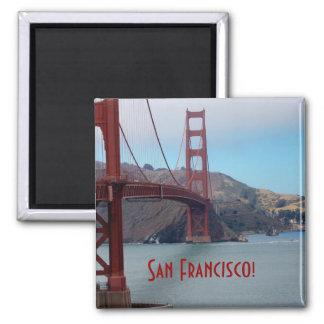 San Francisco den guld- grinden överbryggar Kylskåpmagneter