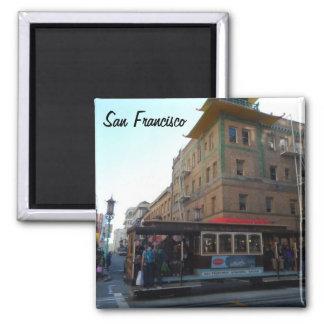 San Francisco kabelbil Magnet