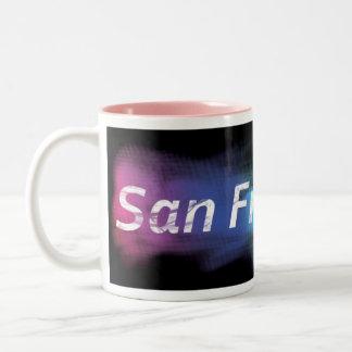 San Francisco kaffe Två-Tonad Mugg