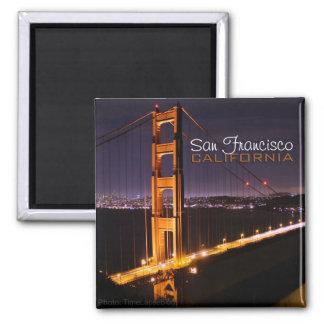 San Francisco Kalifornien överbryggar den guld- gr Magnet