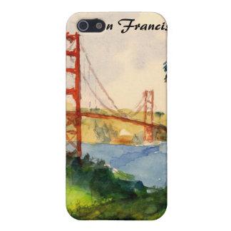 San Francisco överbryggar den guld- grinden iphone iPhone 5 Cover