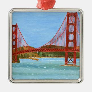 San Francisco överbryggar Julgransprydnad Metall