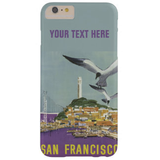 San Francisco vintage resorcases Barely There iPhone 6 Plus Fodral