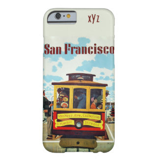 San Francisco vintage resorcases Barely There iPhone 6 Skal