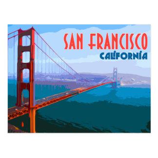 San Francisco vintage resorvykort Vykort