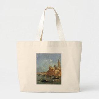 San Giorgio Maggiore av Francesco Guardi Jumbo Tygkasse