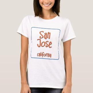 San Jose Kalifornien BlueBox Tee Shirt