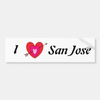 San Jose rikliga Sticker* Bildekal