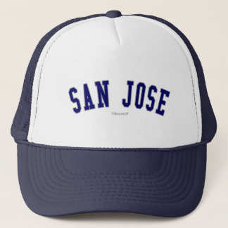 San Jose Truckerkeps