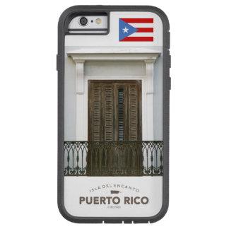 San Juan Puerto Rico flagga Tough Xtreme iPhone 6 Case
