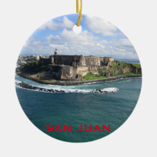San Juan Puerto Rico julprydnad Julgransprydnad Keramik